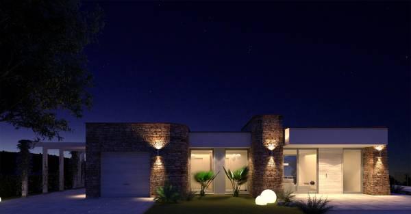 Villa in pietra su due piani for Planimetrie a un piano aperto
