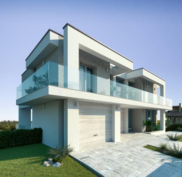 Villa moderna con piscina for Case moderne con piscina
